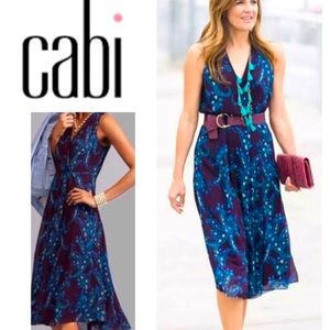 CAbi Treasure dress flattering versatile size 2